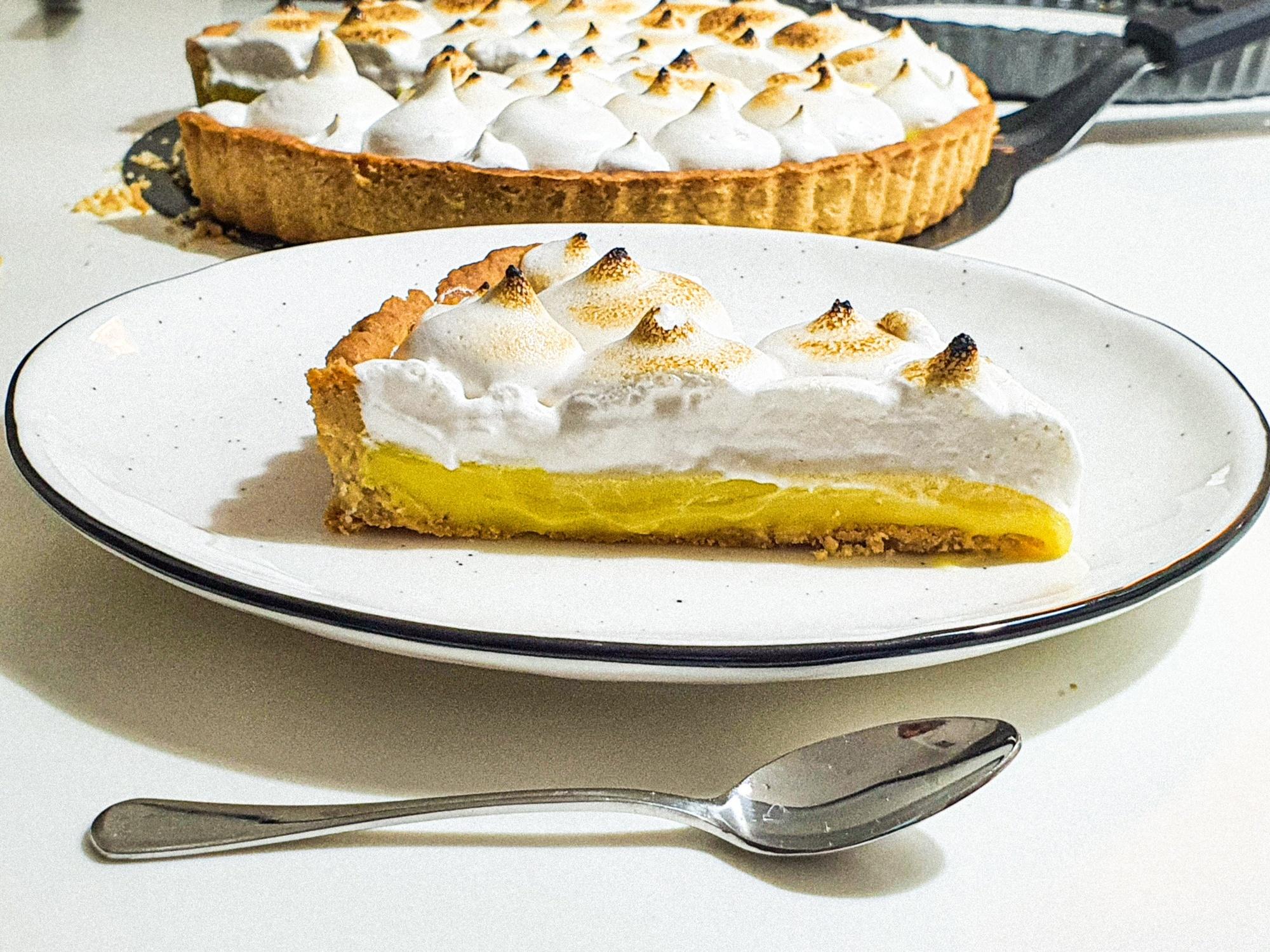 Vegan Recipes Cacao-Shamaness Vegan Lemon Meringue Pie
