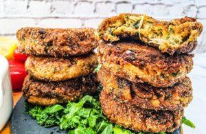 Vegan Recipes Cacao-Shamaness Vegan Crab Cakes and Tartar Sauce