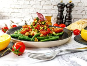 Vegan Recipes Cacao-Shamaness Vegan Israeli Nicoise Salad