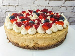 Vegan Recipes Cacao-Shamaness Vegan New York-Style Cheesecake