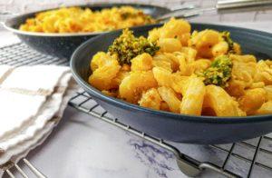Vegan Recipes Cacao-Shamaness Vegan Mac & Cheese with Broccoli