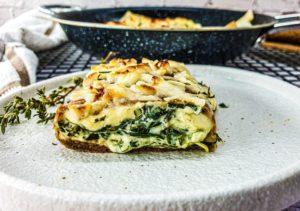 Vegan Recipes Cacao-Shamaness Vegan Spinach & Cheese Teff Blintzes