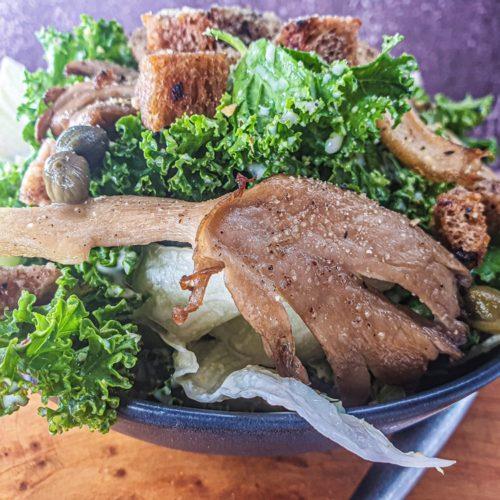 Vegan Recipes Cacao-Shamaness Vegan Kale Caesar Salad