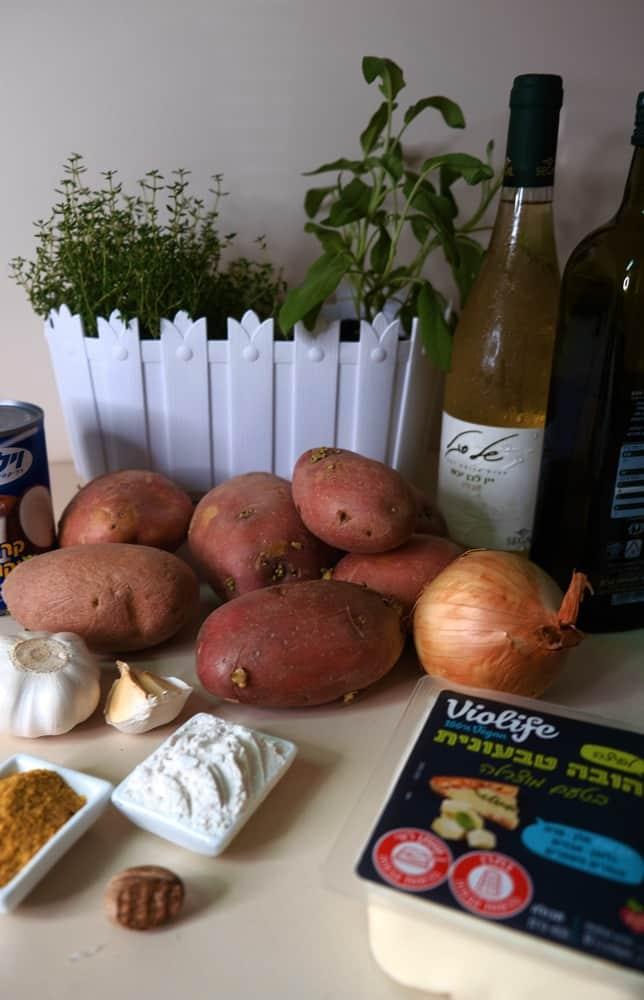 Vegan Recipes Cacao-Shamaness Vegan Potato Gratiné