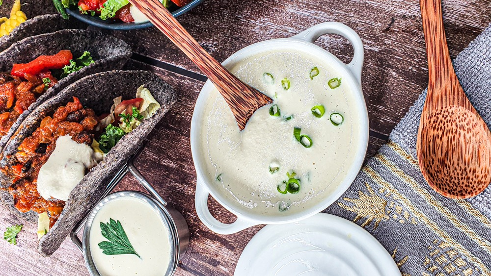 Vegan Recipes Cacao-Shamaness Vegan Cashew Sour Cream