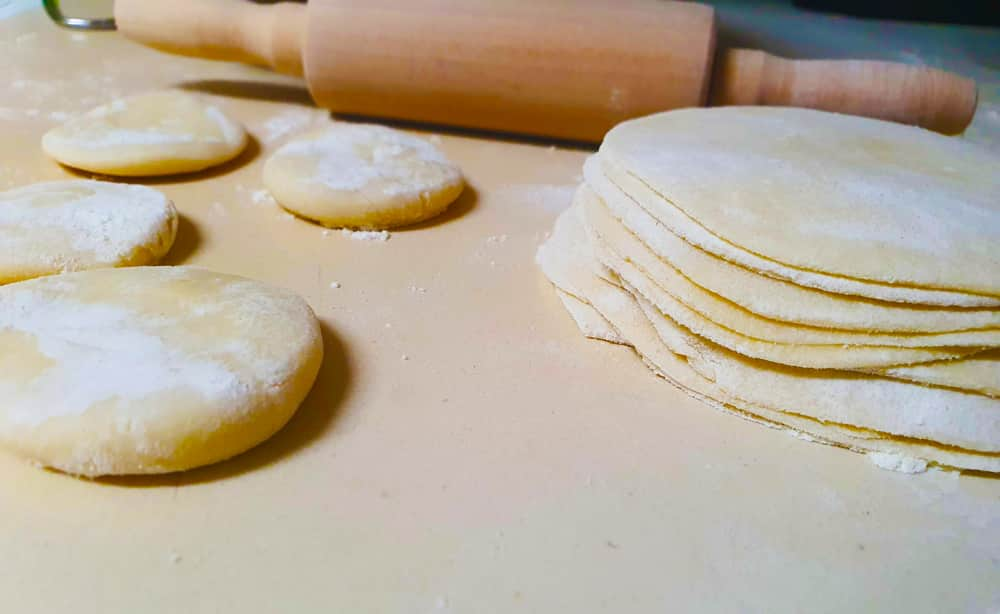 Vegan Recipes Cacao-Shamaness Vegan Dumpling Wrappers Dough