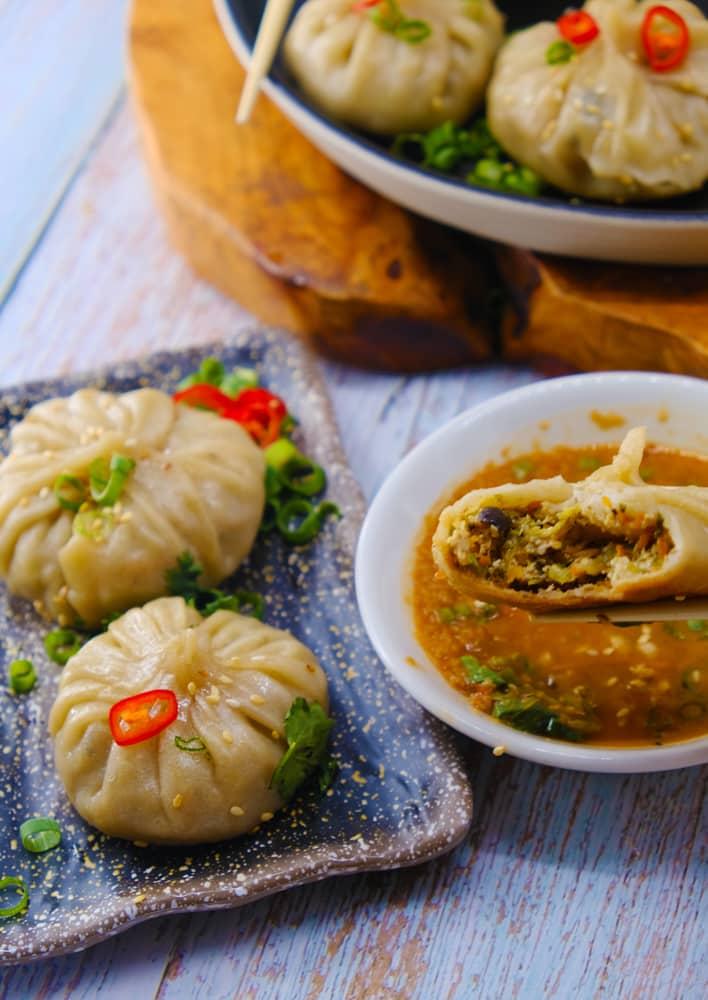 Vegan Recipes Cacao-Shamaness Vegan Vegetable and Tofu Stuffed Dumpling