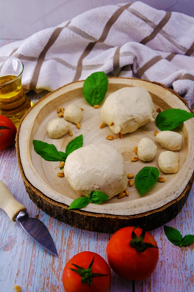 Vegan Recipes Cacao-Shamaness Vegan Buffalo Style Mozzarella