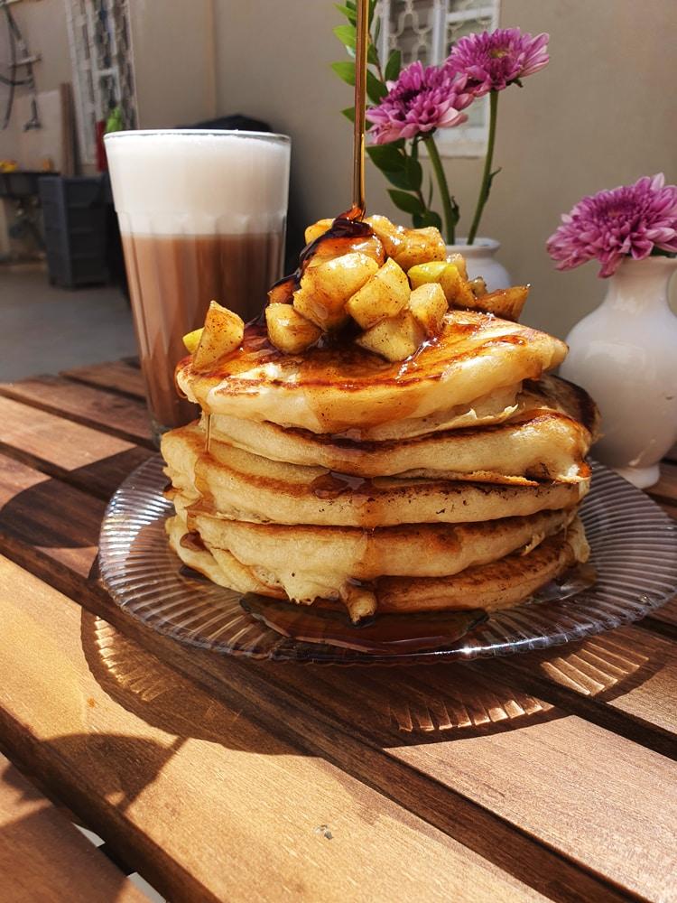 Vegan Recipes Cacao-Shamaness Vegan Buttermilk Pancakes